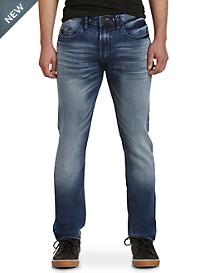 Buffalo David Bitton® Waller Fleece Active Denim Jeans – Dark Wash