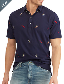 Polo Ralph Lauren® Classic Fit Embroidered Knit Oxford Shirt
