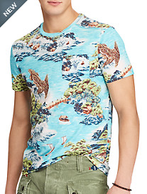 Polo Ralph Lauren® Classic Fit Tropical Landscape T-Shirt