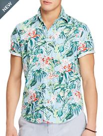 Polo Ralph Lauren® Classic Fit Floral Print Oxford Sport Shirt