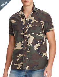 Polo Ralph Lauren® Classic Fit Heritage Camo Oxford Sport Shirt