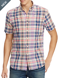 Polo Ralph Lauren® Classic Fit Madras Plaid Sport Shirt