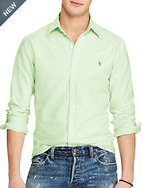 Polo Ralph Lauren® Solid Oxford Sport Shirt
