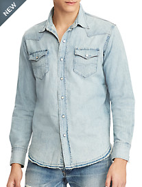 Polo Ralph Lauren® Classic Fit Bailey Wash Denim Sport Shirt