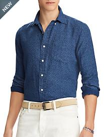 Polo Ralph Lauren® Classic Fit Floral-Print Linen Sport Shirt