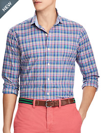 Polo Ralph Lauren® Classic Fit Plaid Poplin Sport Shirt