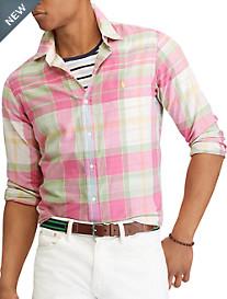 Polo Ralph Lauren® Classic Fit Madras Plaid Sport Shirt