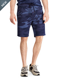 Polo Ralph Lauren® Camo Print Double-Knit Active Shorts