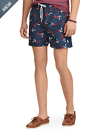 Polo Ralph Lauren® Nautical Traveler Swim Trunks