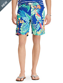 Polo Ralph Lauren® Jungle Print Kailua Swim Trunks