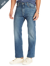Polo Ralph Lauren® Hampton Relaxed Straight Fit Stockton Wash Jeans