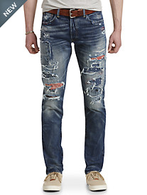 Polo Ralph Lauren® Hampton Relaxed Straight Fit Lincoln Wash Jeans