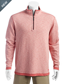 Tommy Bahama® Sea Glass Reversible Half-Zip Pullover