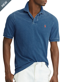 Polo Ralph Lauren® Classic Fit Weathered Mesh Polo