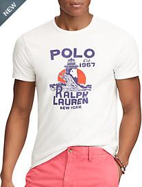Polo Ralph Lauren® Classic-Fit Lighthouse Graphic T-Shirt