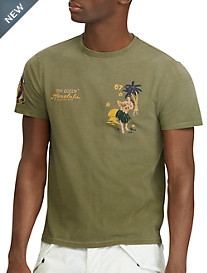 Polo Ralph Lauren® Classic Fit Hula Girl Graphic T-Shirt