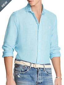 Polo Ralph Lauren® Classic Fit Solid Linen Sport Shirt