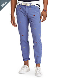 Polo Ralph Lauren® Stretch Embroidered Classic Fit Chinos