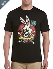 Psycho Bunny® Tattoo Skull Bunny Graphic Tee