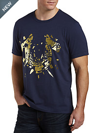 True Religion® Metallic Shatter Tee