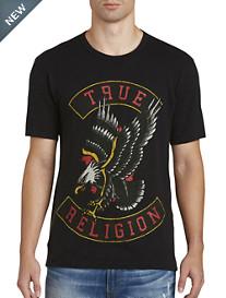 True Religion® True Eagle Graphic Tee