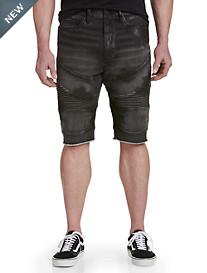 True Religion® Geno Moto-Inspired Shorts