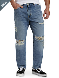 Levi's® 541™ Athletic-Fit Tropical Farmhand Rip-and-Repair Jeans