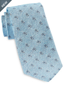 Jack Victor® Small Repeating Paisley Silk Tie