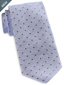 Jack Victor® Textured Cube Neat Silk Tie