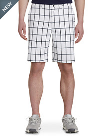 Callaway® Windowpane Plaid Golf Shorts