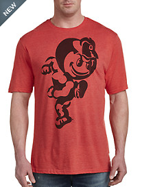 Retro Brand Ohio State Red Tee