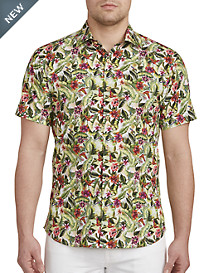 Jared Lang Floral Tropical Sport Shirt
