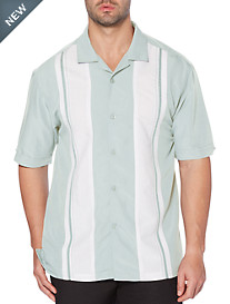 Cubavera® Panel Camp Shirt