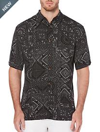 Cubavera® Pattern Sport Shirt