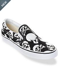 Vans Classic Skull-Print Slip-Ons