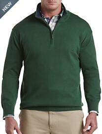 Nautica® Solid 1/4-Zip Sweater
