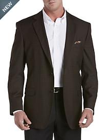 Oak Hill® Jacket Relaxer® Brown Gingham Sport Coat