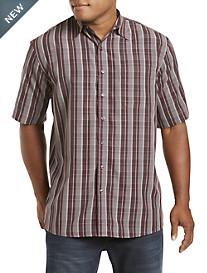 Harbor Bay® Plaid Microfiber Sport Shirt
