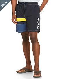 Nautica® Colorblock Swim Trunks
