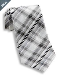 Geoffrey Beene® Plaid Perfection Silk Tie