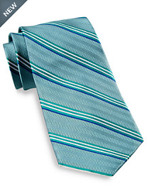 Gold Series® DII Herringbone Stripe Silk Tie