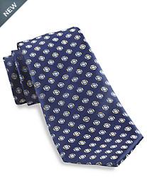 Geoffrey Beene® Rock On Medallion Silk Tie