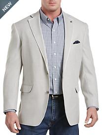 Oak Hill® Textured Nautical Jacket Relaxer® Sport Coat