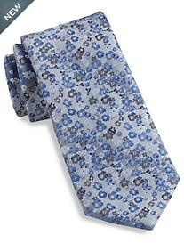 Geoffrey Beene® Secret Garden Floral Silk Tie