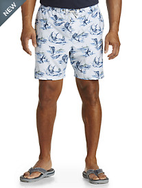 Jack O'Neill Hooked Print Volley Swim Trunks