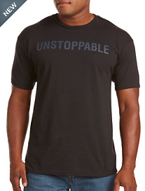 Unstoppable Black Graphic Tee