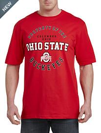 Collegiate Ohio State Red Graphic Tee