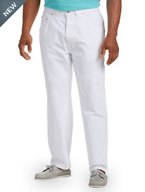Nautica® Loose-Fit White Jeans