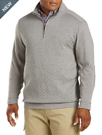 Oak Hill® 1/4-Zip Quilted Pullover
