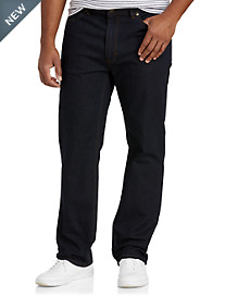 True Nation® Athletic-Fit Dark Rinse Denim Jeans
